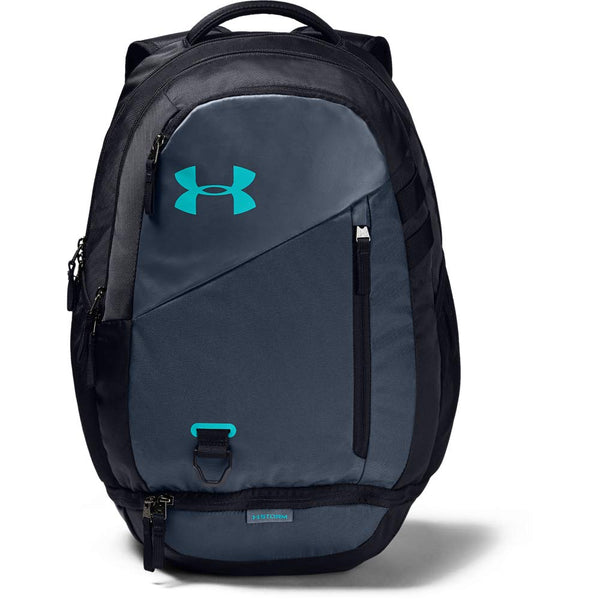 Under Armour Hustle 4.0 Backpack, Downpour Gray (044)/Breathtaking Blue, One Size Fits All - Epivend