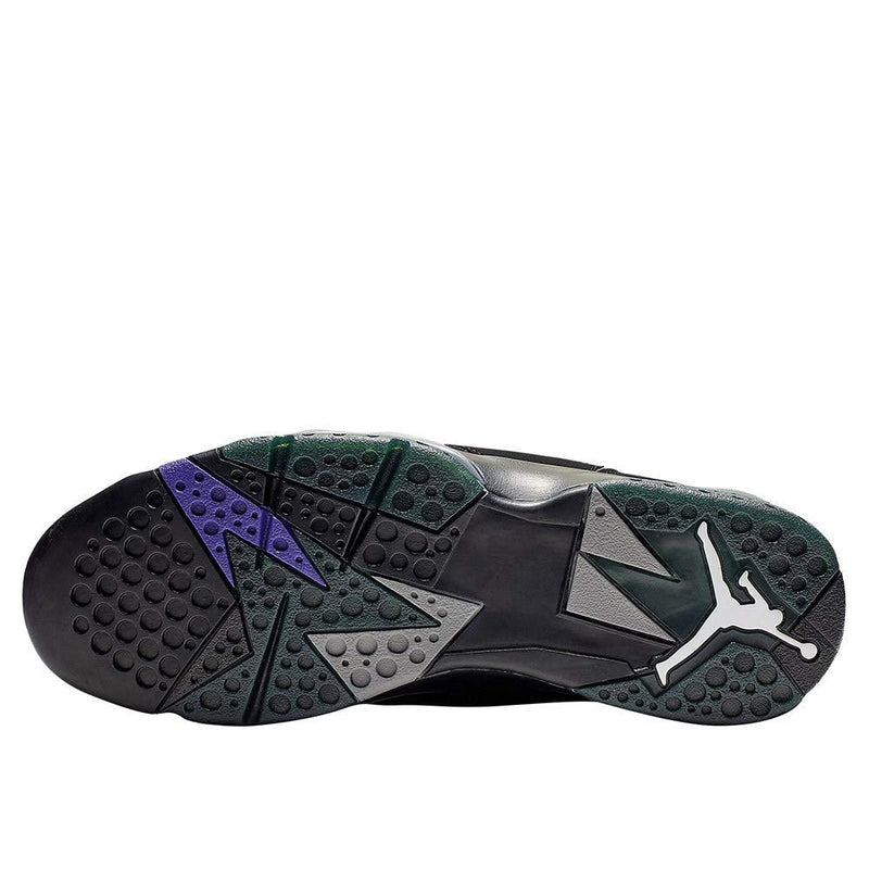 Jordan Nike Men's Air 7 Retro Ray Allen PE Black/Fierce Purple-Dark Steel Grey 304775-053 (Size: 11) - Epivend