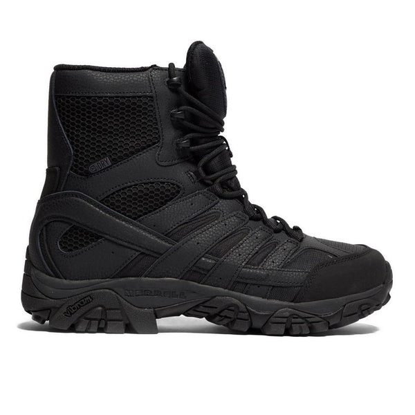 "Merrell Mens Moab 2 8"" Tactical Wp, Color: Black, Size: 10.5, Width: M (J15845-10.5) - Epivend"