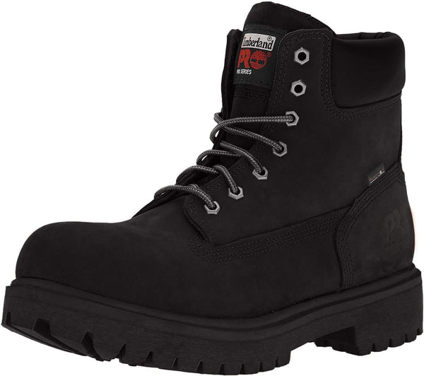 "Timberland PRO Men's 26038 Direct Attach 6"" Steel Toe Boot,Black,10.5 M - Epivend"