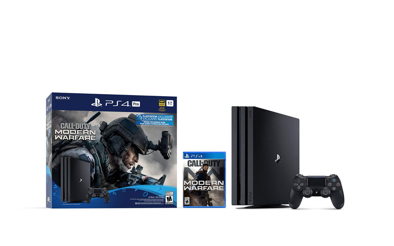 PlayStation 4 Pro 1TB Console - Call of Duty: Modern Warfare Bundle - Epivend
