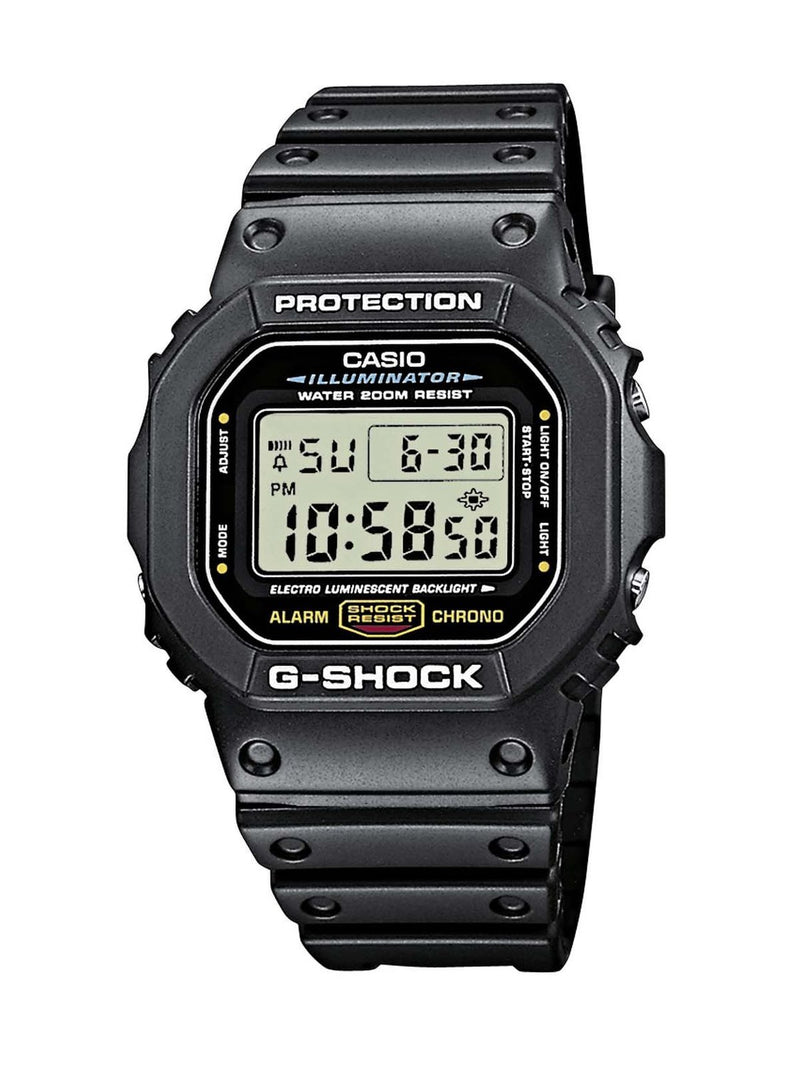Casio Men's G-Shock Quartz Watch with Resin Strap, Black, 20 (Model: DW5600E-1V) - Epivend