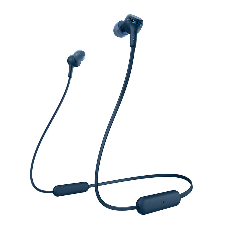 Sony Wi-Xb400 Wireless in-Ear Extra Bass Headphones, Blue (WIXB400/L) - Epivend