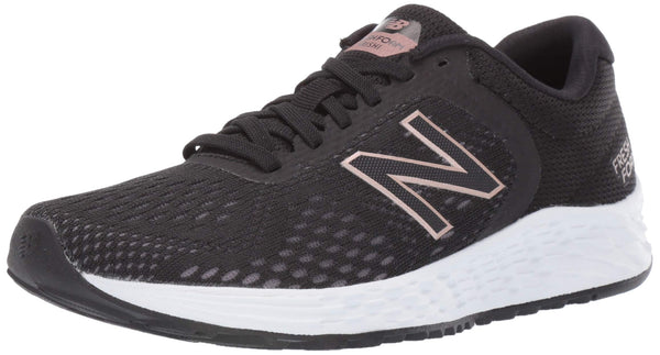 New Balance Women's Arishi V2 Fresh Foam Running Shoe, Black/Rose Gold, 9 M US - Epivend