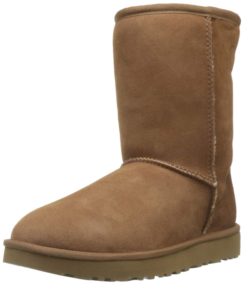 UGG Women's Classic Short II Winter Boot, Chestnut, 9 B US - Epivend