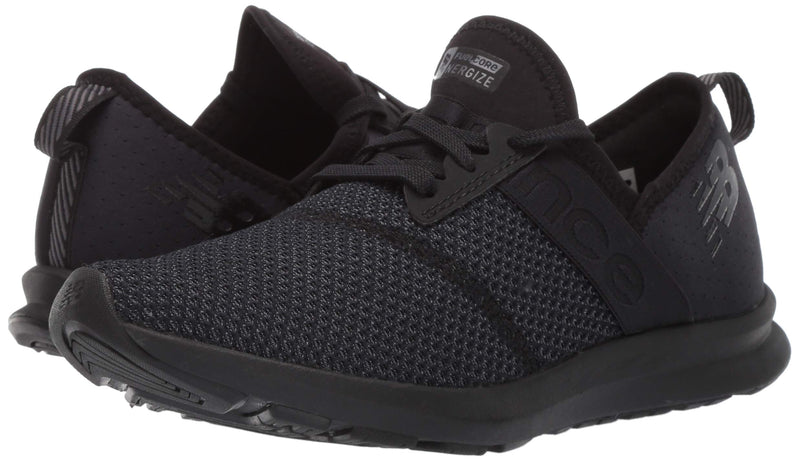 New Balance Women's Nergize V1 FuelCore Sneaker,BLACK,8.5 B US - Epivend
