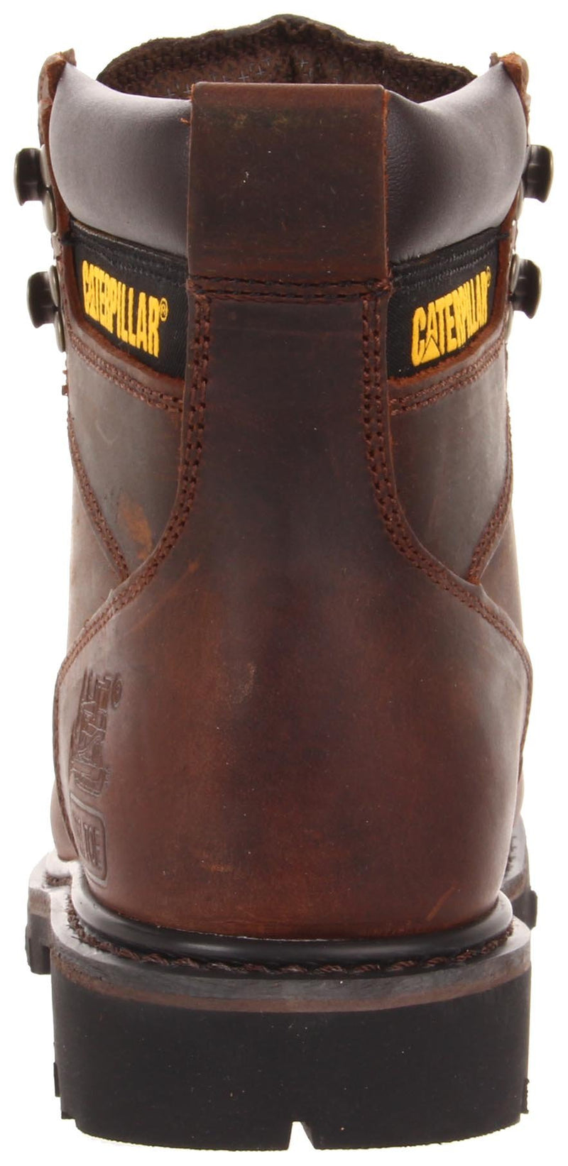 Caterpillar Men's Second Shift Steel Toe Work Boot, Dark Brown, 11 M US - Epivend