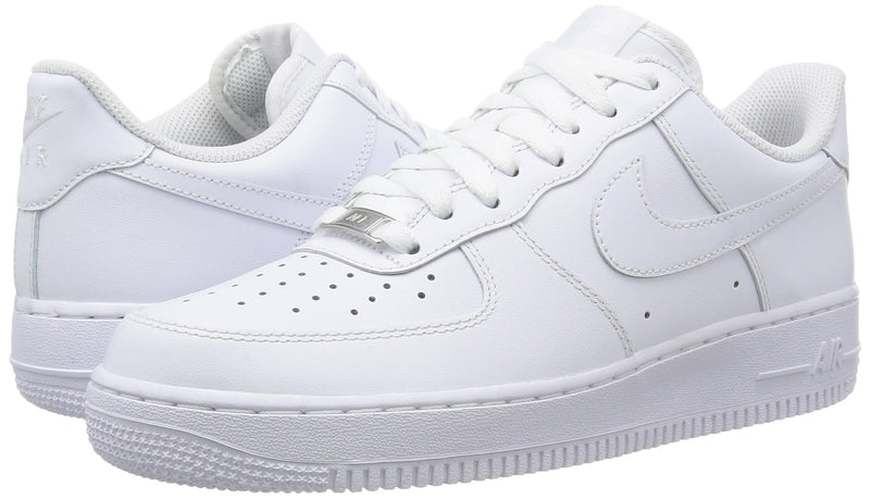 NIKE MENS AIR FORCE ONE SNEAKER (SIZES 7-14) White - Footwear/Sneakers 10 - Epivend