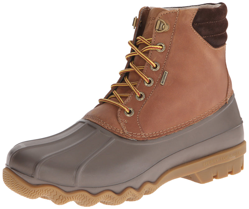 Sperry Mens Avenue Duck Boots, Tan/Brown, 12 - Epivend