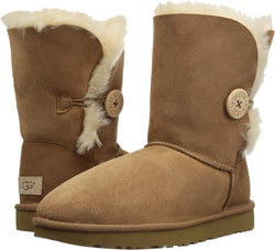 UGG Women's Bailey Button II Winter Boot, Chestnut, 7 B US - Epivend