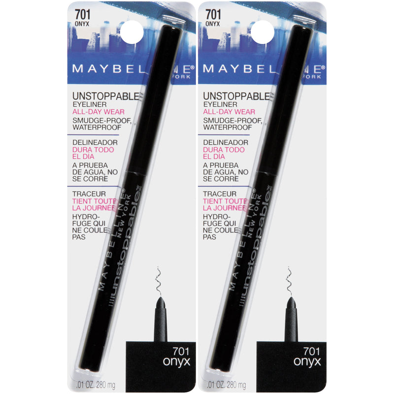 Maybelline Unstoppable Eyeliner, Onyx, 2 COUNT - Epivend