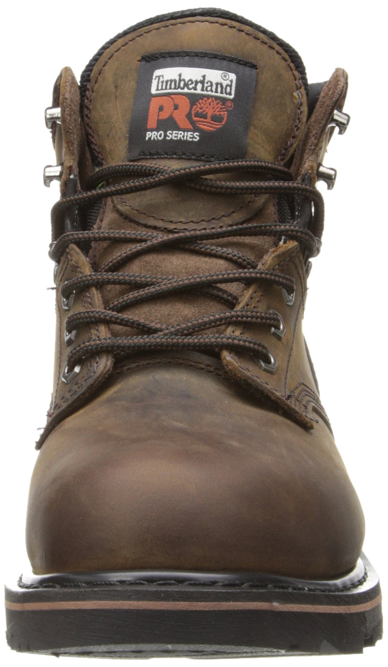 "Timberland PRO Men's Pitboss 6"" Steel-Toe Boot, Brown , 10 D - Medium - Epivend"