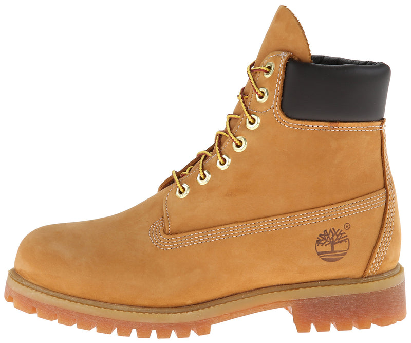 Timberland Men's 6 inch Premium Waterproof Boot Fashion, Wheat Nubuck, 10 - Epivend