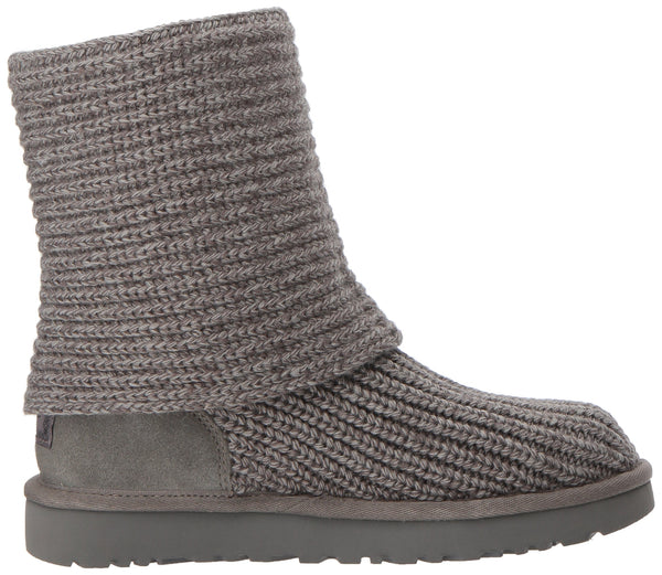UGG Women's Classic Cardy Winter Boot, Grey, 8 B US - Epivend