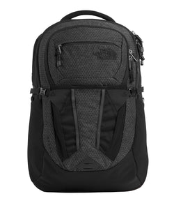The North Face Women's Recon Backpack, TNF Black Heather/Silver Reflective, One Size - Epivend