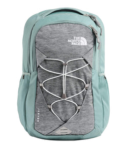 The North Face Women's Jester Backpack, Mid Grey Light Heather/Trellis Green, One Size - Epivend