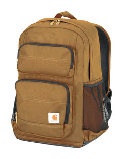Carhartt Legacy Standard Work Backpack with Padded Laptop Sleeve and Tablet Storage, Carhartt Brown - Epivend