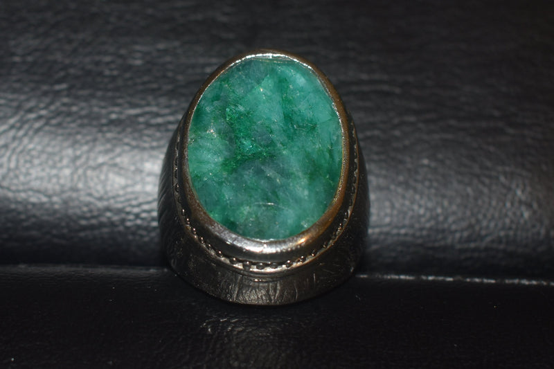Sunstar Emerald Stone Ring - Epivend