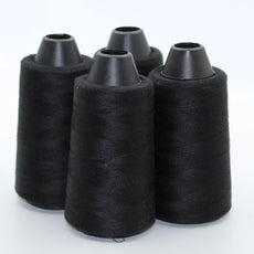 4 spools Overlock Yarn 4x3000 METERS  - Polyester 100% - ACCESSOIRES LEDUC