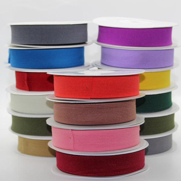 10 METERS - coloured ELASTIC 25MM
