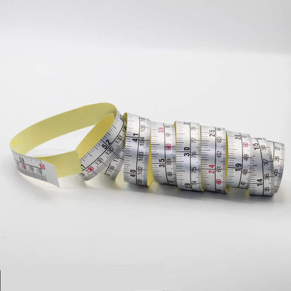 2 High Quality Self-Adhesive Measuring Tapes (1.5 meters)