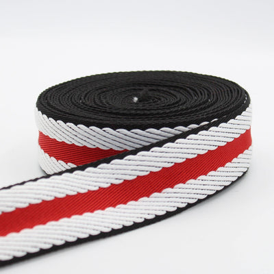 5 meters Herringbone Striped Webbing 40mm