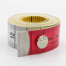 150cm High Quality Measure Tape with Snap Button CM / Inches - ACCESSOIRES LEDUC