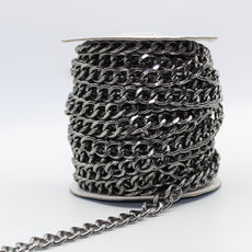 Nickel Free Aluminium Chains (with 12x15mm Rings) 5 meters