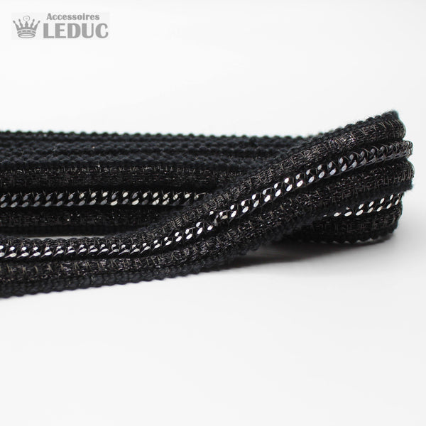 1 meter PAS681 - 18MM Black Trim with Chains