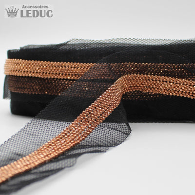 1 meter PAS941 - 40MM Mesh + Chains Trim