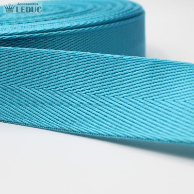 5 meters Shiny Herringbone Webbing 30mm
