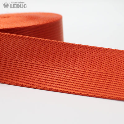 5 meters Shiny Herringbone Webbing 40mm