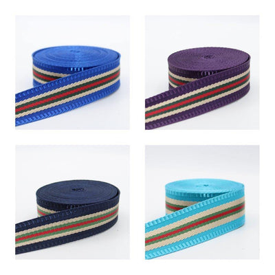 5 meters Fancy Striped Webbing 30mm