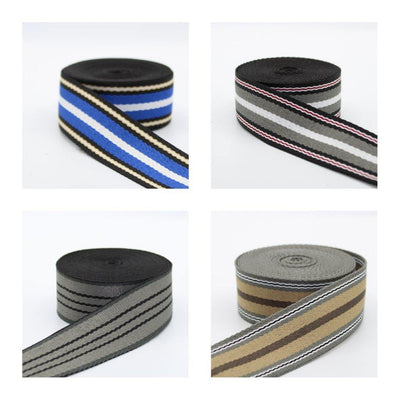 5 meters Fancy Striped Webbing 40mm