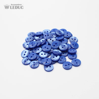 50 pieces - 2 Holes Polyester Button for Blouses 11mm (18