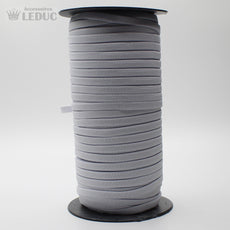 100 METRES - 10mm  WHITE or BLACK KNITTED Elastic - ACCESSOIRES LEDUC