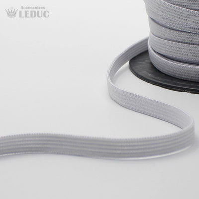 100 METRES - 10mm  WHITE or BLACK KNITTED Elastic