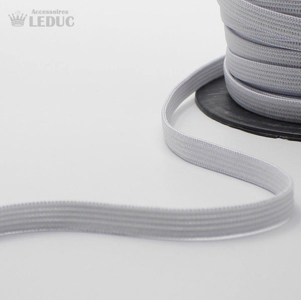 100 METERS - 6mm WHITE or BLACK KNITTED Elastic