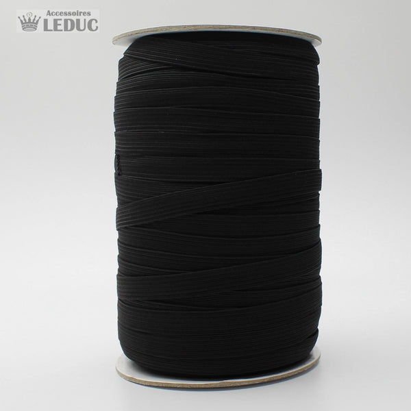 100 METRES - 7mm BLACK  Elastic