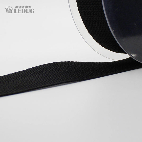 Black Polipropilene  Webbing 30 or 40mm - 10MT ROLLS