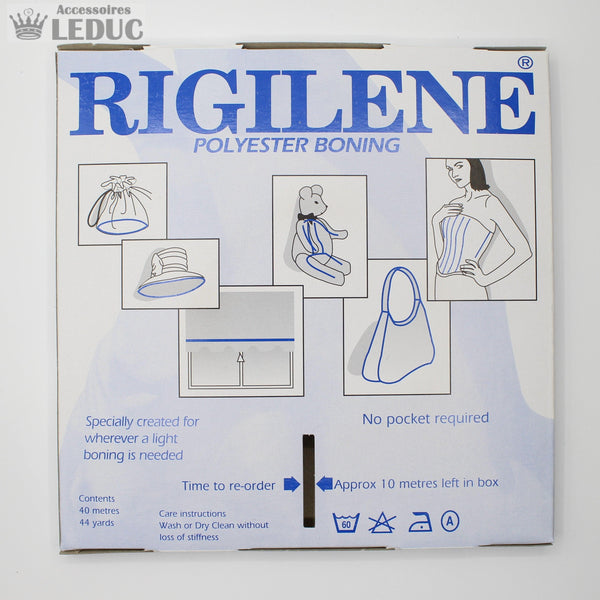 RIGILENE 40mt - 6MM - White Boning
