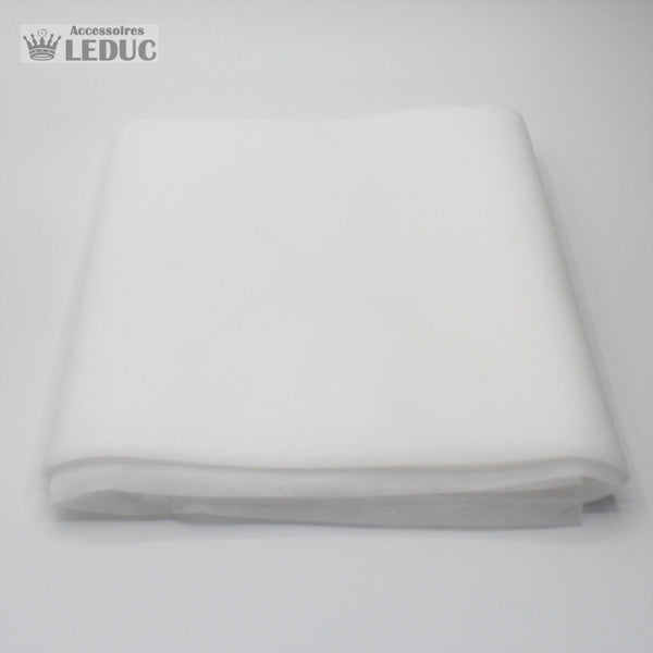 Non woven fabric for 50 masks white, width *20cm* - length 10 m