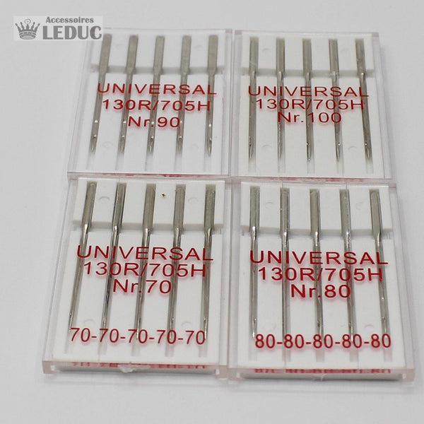 20 SEWINGMACHINE NEEDLES - SIZE 70-80-90-100