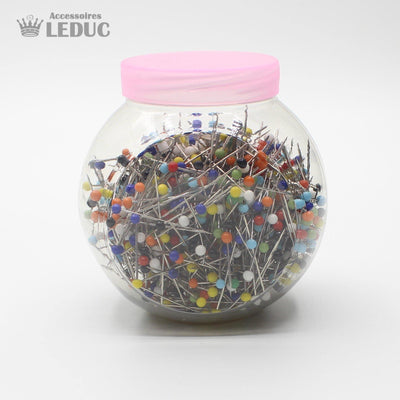 Glass Head Pins Mixed 0.65*30mm - Box of 1000 Pins