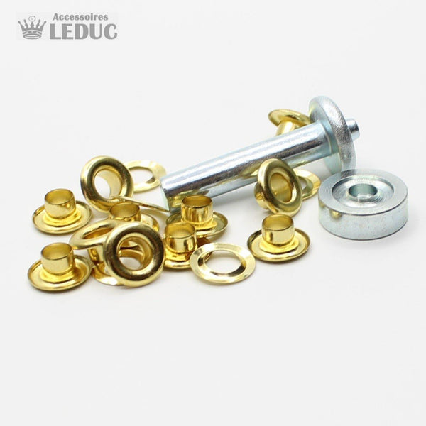 Eyelets Gold or Silver with Tool
