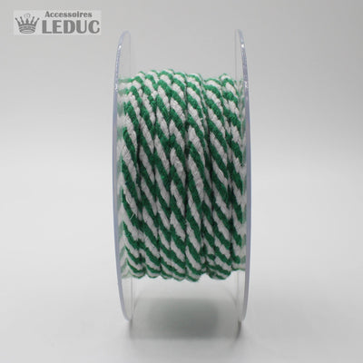 Bicolor Cord - Roll of 10 meters