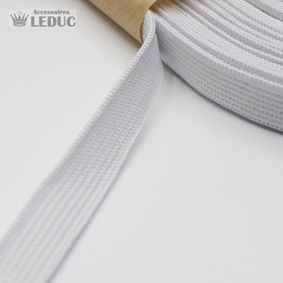 10 METERS - 10mm Knitted Elastic (Black or White)