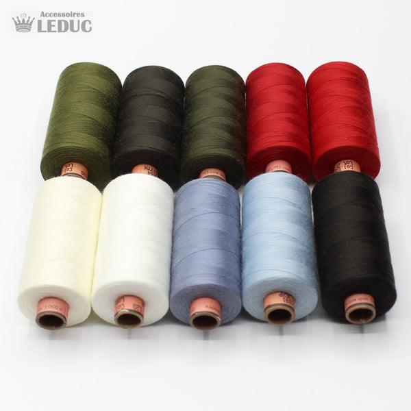 Amann Saba Yarn 1000m - High Quality Polyester German Yarn