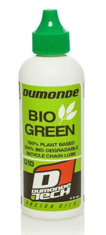 Dumonde Tech G-10 Bio Green Bicycle Lubricant - MULTIPLE SIZES