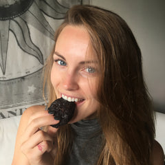 Cassie Ritchie | Choc Avocado Fudge cookies